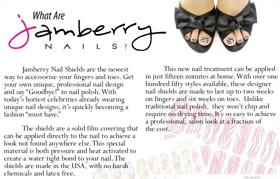 What are Jamberry Nail Shields?